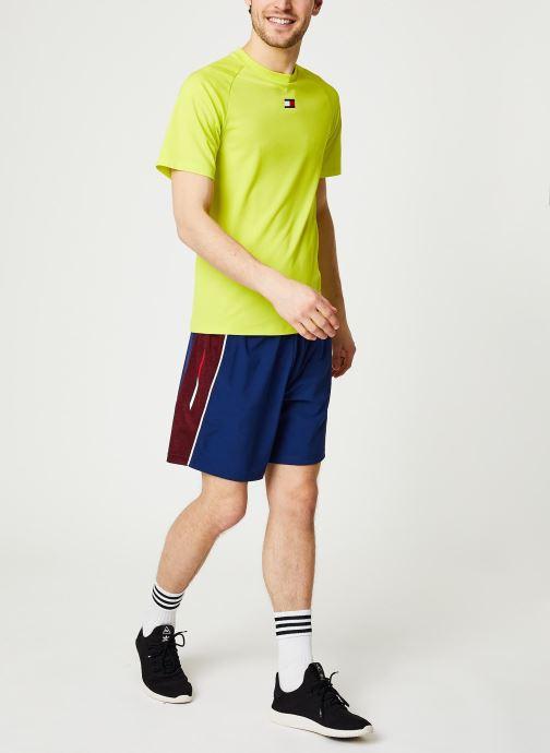 Vêtements Tommy Sport Vent Colourblock Woven Short 7' Bleu vue bas / vue portée sac