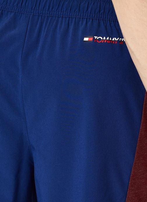 Vêtements Tommy Sport Vent Colourblock Woven Short 7' Bleu vue face
