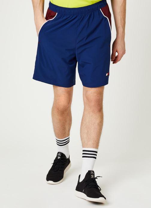 Vêtements Tommy Sport Vent Colourblock Woven Short 7' Bleu vue détail/paire