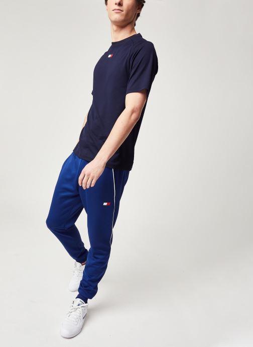 Vêtements Tommy Sport Cuffed Training Pant Bleu vue bas / vue portée sac