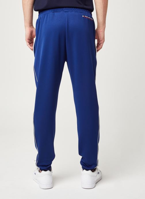 Vêtements Tommy Sport Cuffed Training Pant Bleu vue portées chaussures