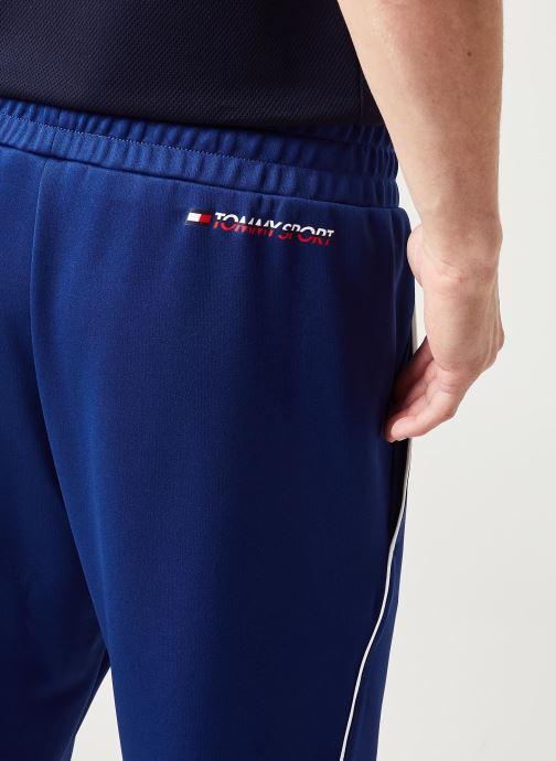 Vêtements Tommy Sport Cuffed Training Pant Bleu vue face