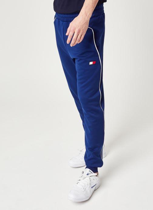 Vêtements Tommy Sport Cuffed Training Pant Bleu vue détail/paire