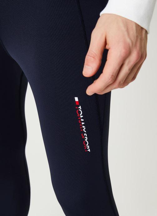 Vêtements Tommy Sport Mesh Legging Bleu vue face