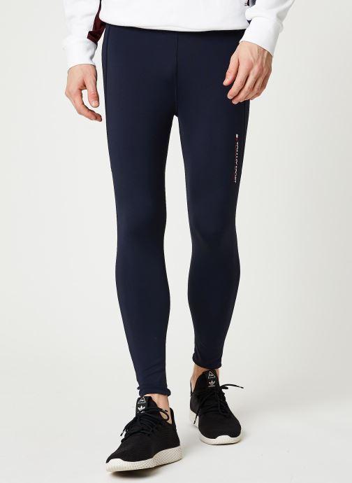 Vêtements Tommy Sport Mesh Legging Bleu vue détail/paire