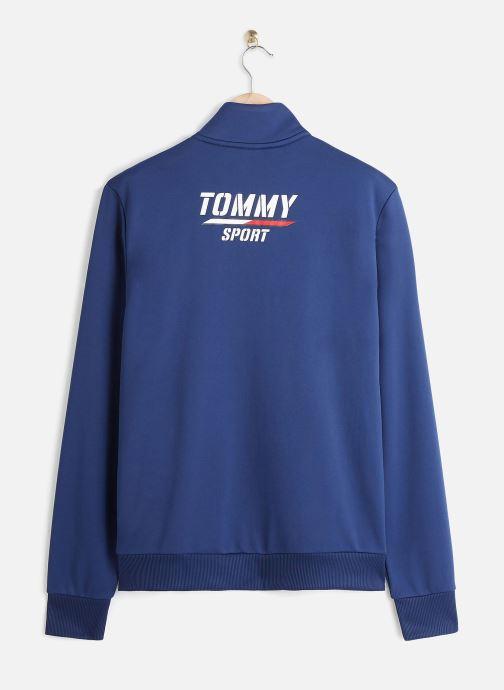 Vêtements Tommy Sport Printed Track Jkt Bleu vue bas / vue portée sac