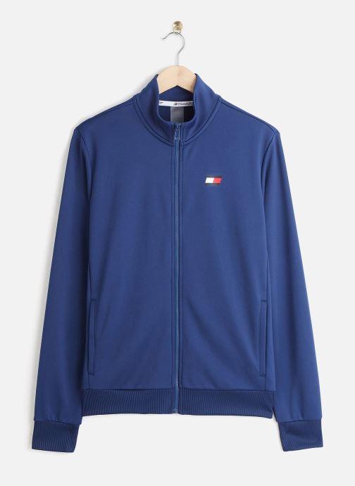 Vêtements Tommy Sport Printed Track Jkt Bleu vue détail/paire