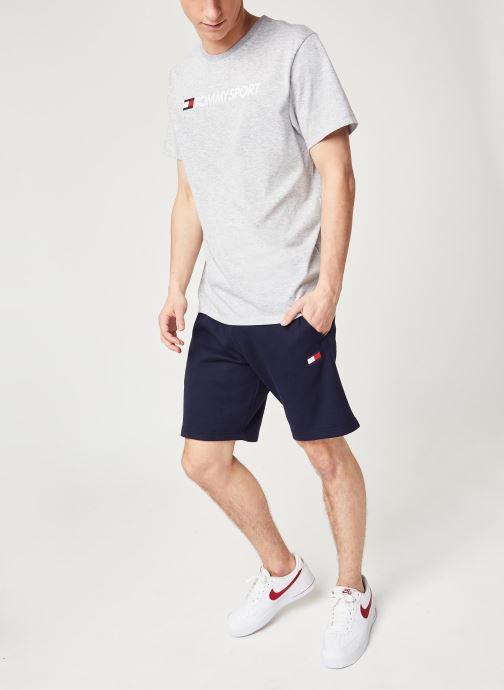 Vêtements Tommy Sport Chest Logo Top Gris vue bas / vue portée sac