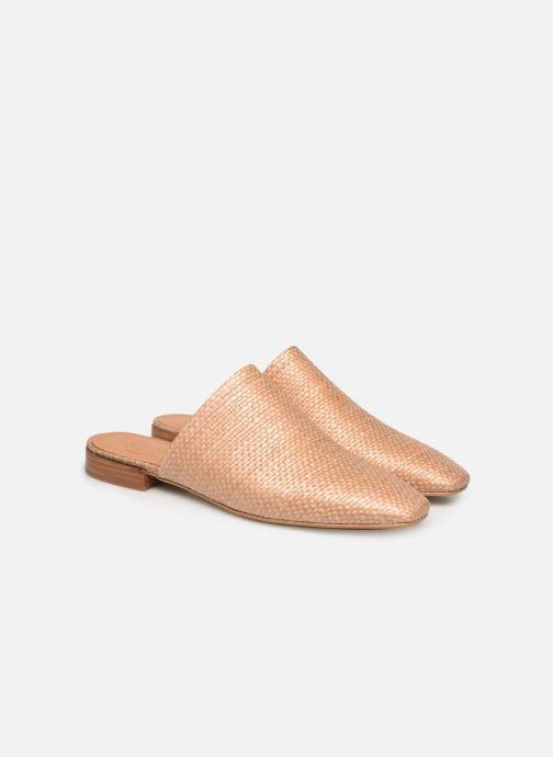 Zoccoli Made by SARENZA Riviera Couture Mules #2 Beige immagine posteriore