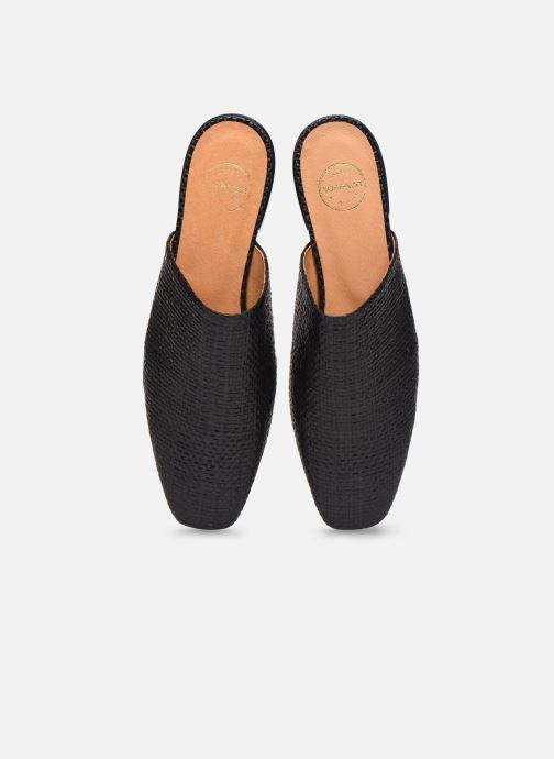 Mules et sabots Made by SARENZA Riviera Couture Mules #2 Noir vue portées chaussures