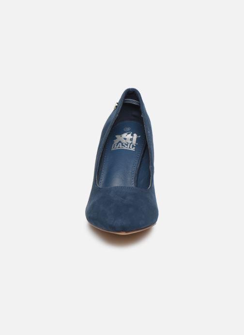 Escarpins Xti 34066 Bleu vue portées chaussures