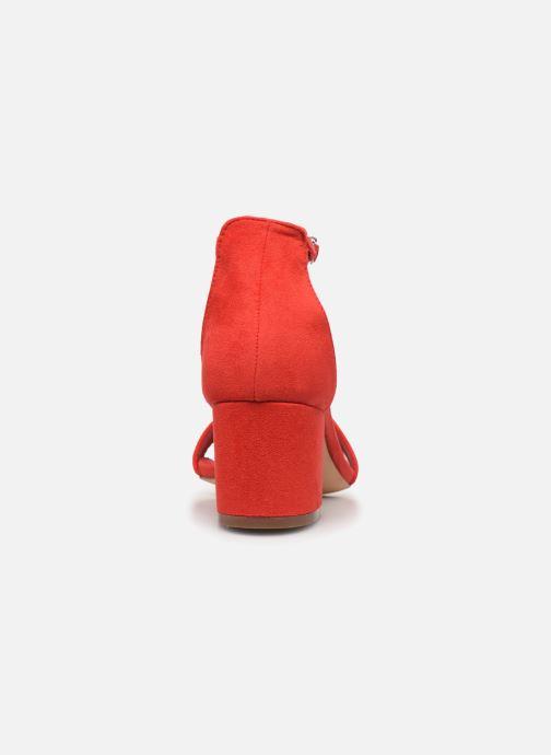 Sandales et nu-pieds Xti 34073 Rouge vue droite