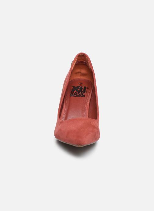 Zapatos de tacón Xti 34076 Rosa vista del modelo