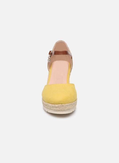 Espadrilles Xti 34102 Jaune vue portées chaussures