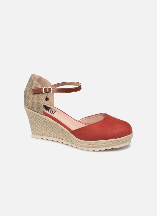 Espadrilles Xti 34102 Red detailed view/ Pair view