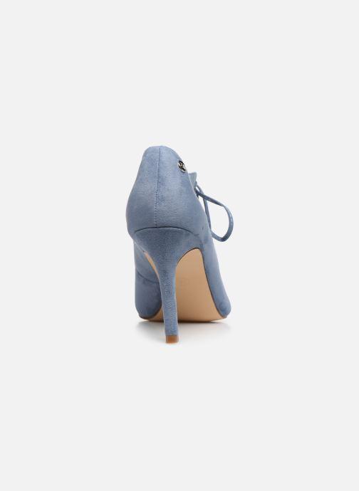 Zapatos de tacón Xti 35004 Azul vista lateral derecha