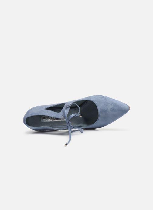 Zapatos de tacón Xti 35004 Azul vista lateral izquierda