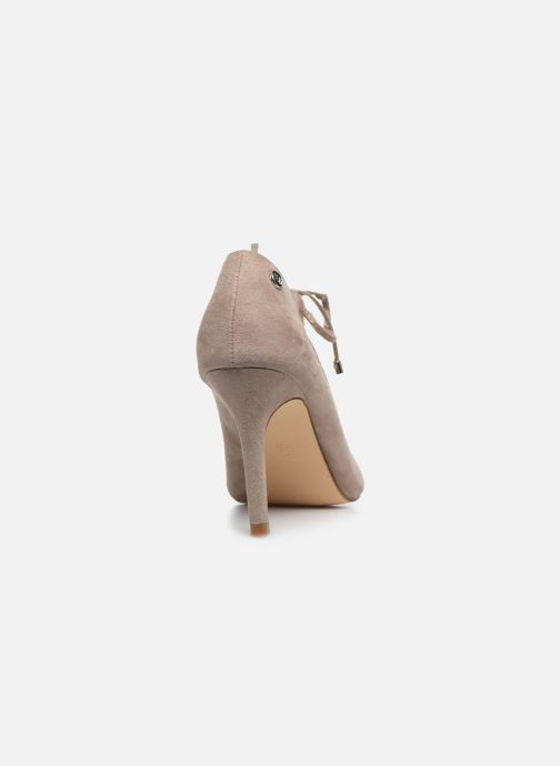 Zapatos de tacón Xti 35004 Beige vista lateral derecha