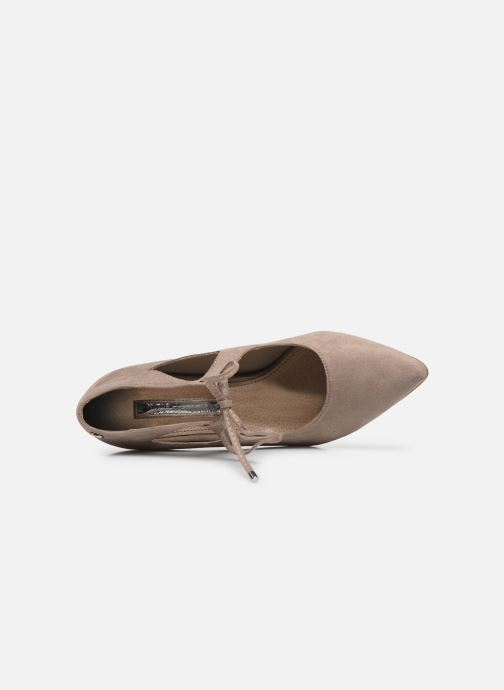 Zapatos de tacón Xti 35004 Beige vista lateral izquierda