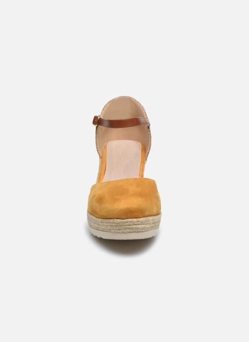 Espadrilles Xti 48130 Jaune vue portées chaussures