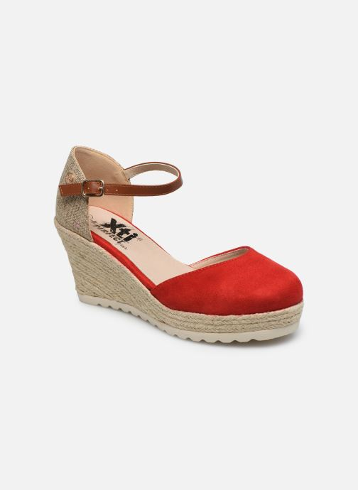 Espadrilles Xti 48130 Red detailed view/ Pair view