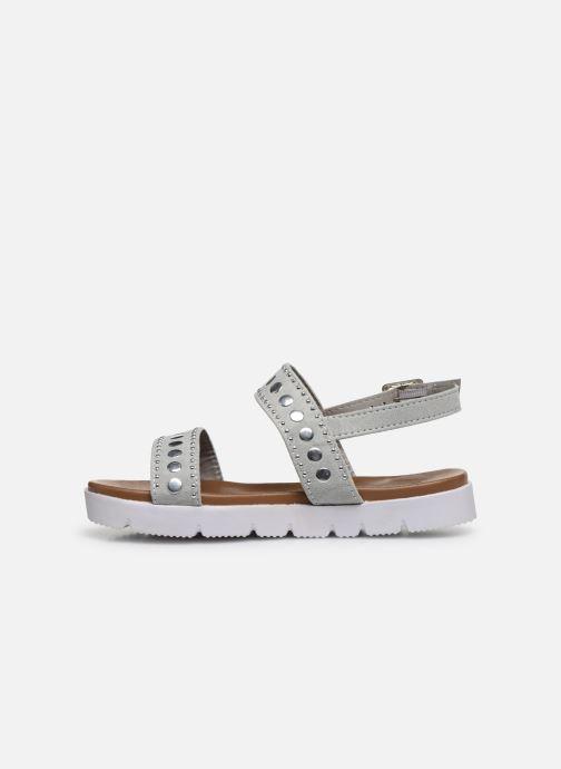 Sandales et nu-pieds Xti 56655 Gris vue face