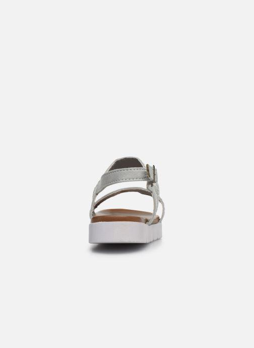 Sandales et nu-pieds Xti 56655 Gris vue droite