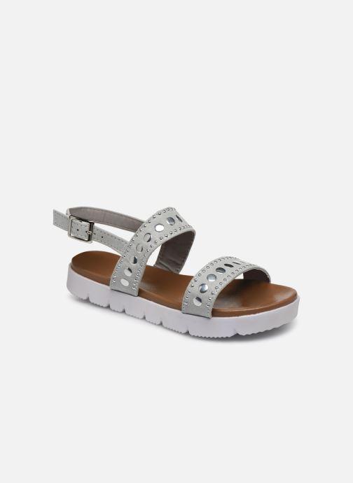 Sandales et nu-pieds Xti 56655 Gris vue détail/paire