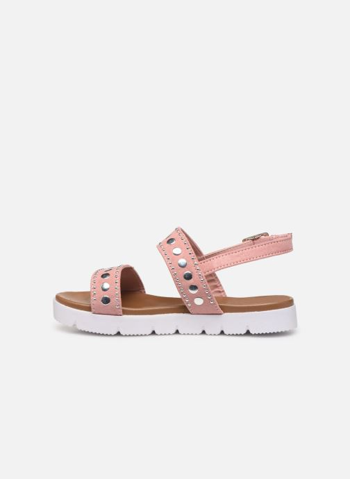 Sandales et nu-pieds Xti 56655 Rose vue face