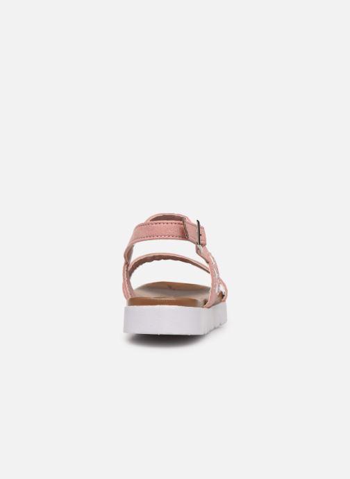 Sandales et nu-pieds Xti 56655 Rose vue droite