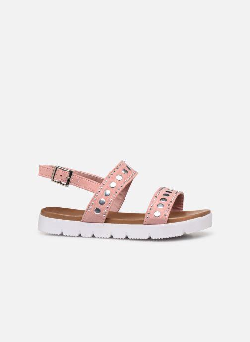 Sandales et nu-pieds Xti 56655 Rose vue derrière