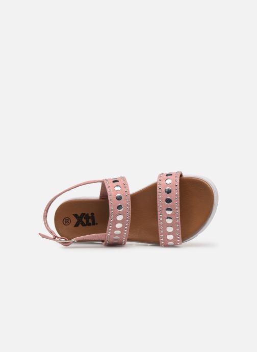 Sandales et nu-pieds Xti 56655 Rose vue gauche