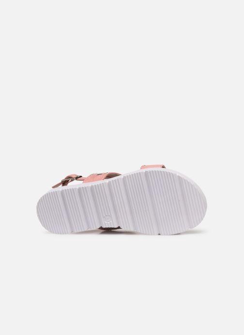 Sandales et nu-pieds Xti 56655 Rose vue haut