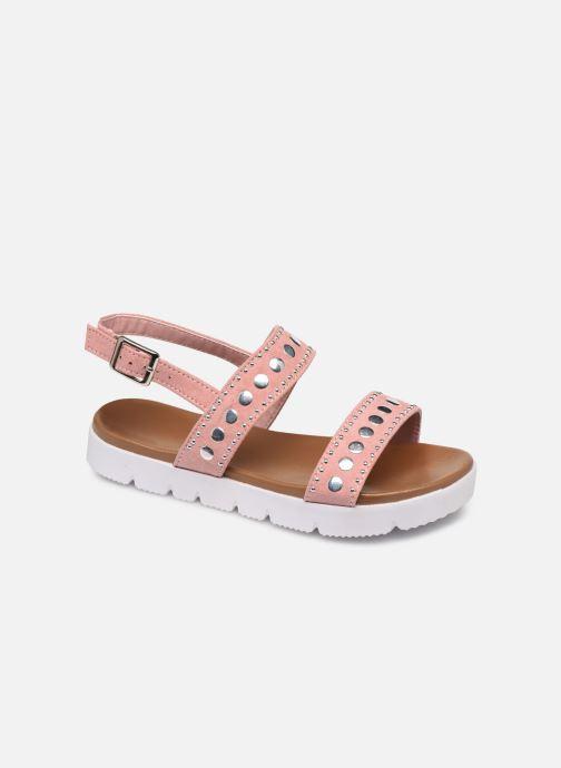 Sandales et nu-pieds Xti 56655 Rose vue détail/paire