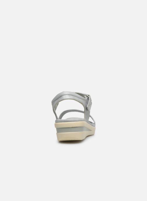 Sandales et nu-pieds Xti 56661 Gris vue droite