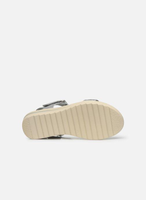 Sandales et nu-pieds Xti 56661 Gris vue haut