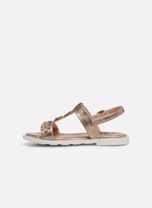 Sandales et nu-pieds Xti 56666 Beige vue face