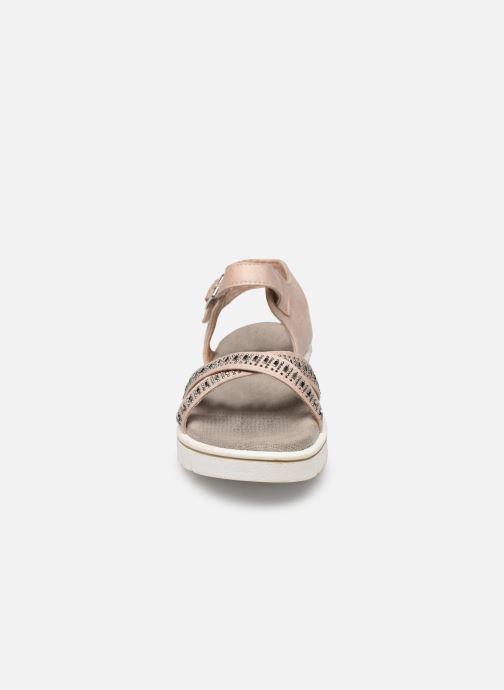 Sandales et nu-pieds Xti 56685 Beige vue portées chaussures