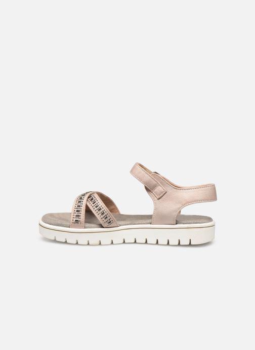 Sandales et nu-pieds Xti 56685 Beige vue face