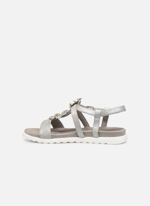 Sandales et nu-pieds Xti 56690 Argent vue face