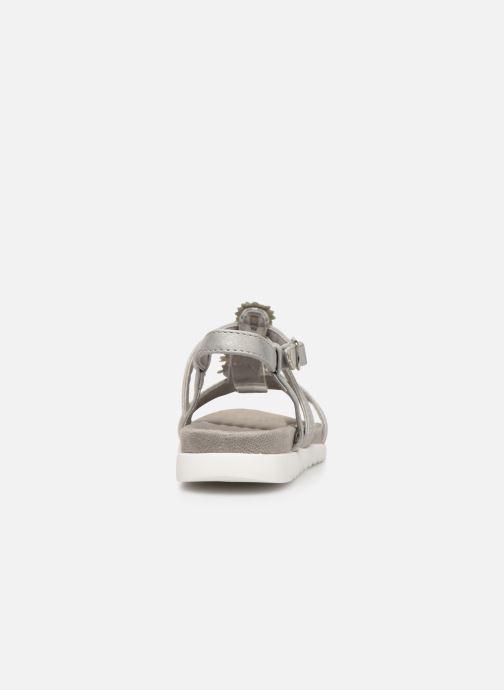 Sandales et nu-pieds Xti 56690 Argent vue droite