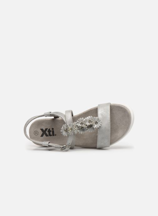 Sandales et nu-pieds Xti 56690 Argent vue gauche