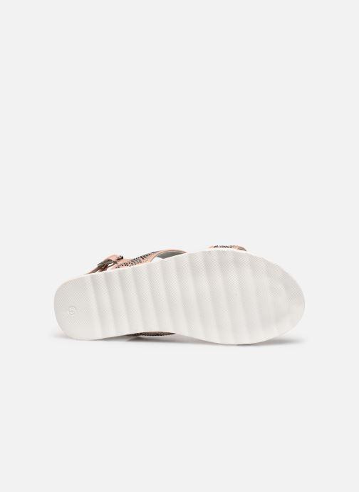 Sandales et nu-pieds Xti 56692 Beige vue haut