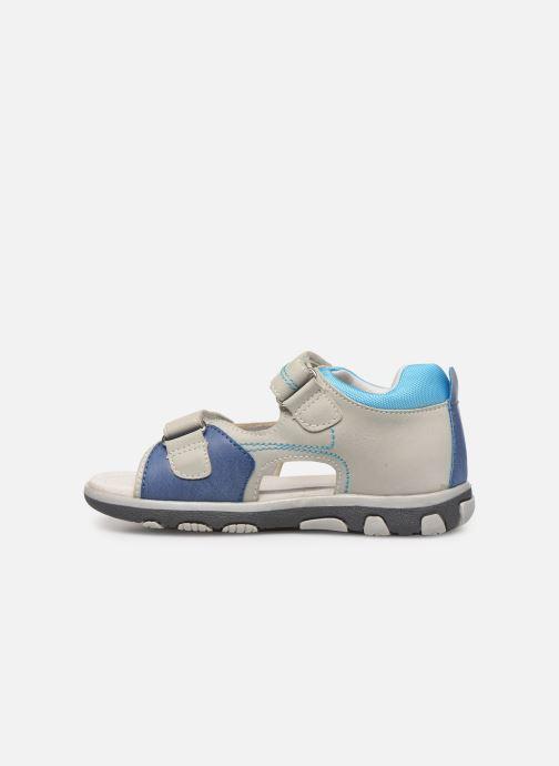 Sandales et nu-pieds Xti 56843 Gris vue face
