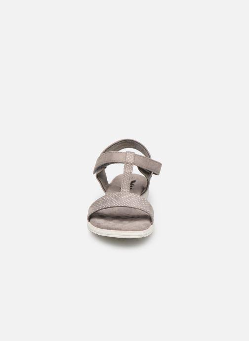 Sandales et nu-pieds Xti 56847 Gris vue portées chaussures
