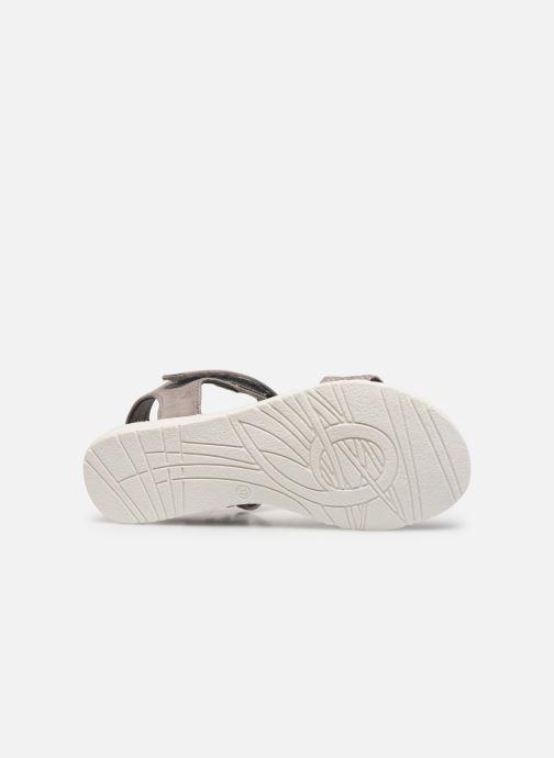 Sandales et nu-pieds Xti 56847 Gris vue haut