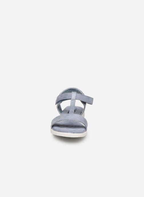 Sandales et nu-pieds Xti 56847 Bleu vue portées chaussures