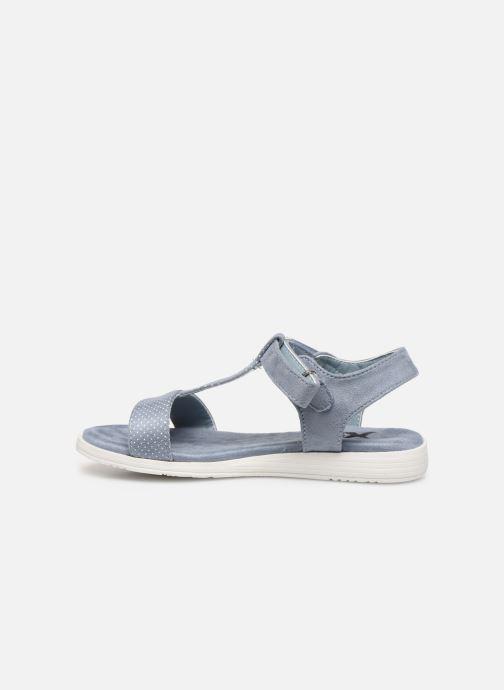 Sandales et nu-pieds Xti 56847 Bleu vue face