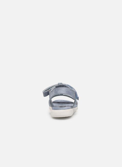 Sandales et nu-pieds Xti 56847 Bleu vue droite