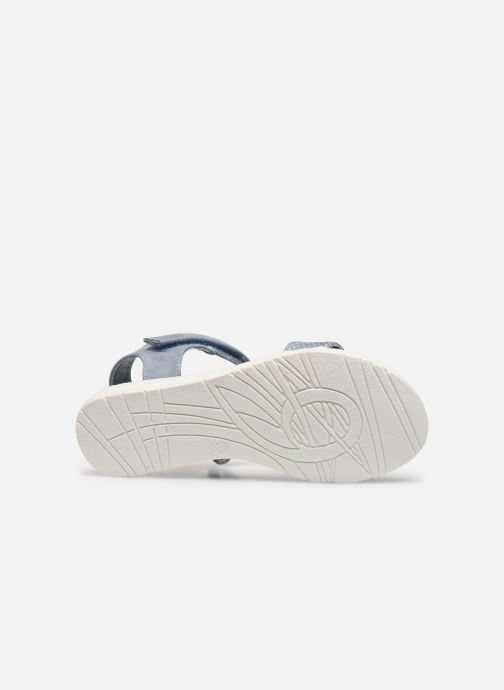 Sandales et nu-pieds Xti 56847 Bleu vue haut
